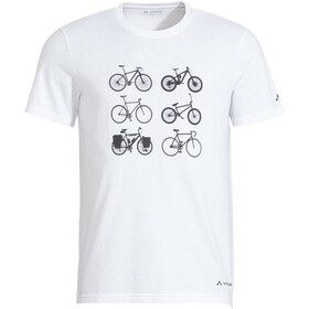 VAUDE Cyclist V T-Shirt Men white